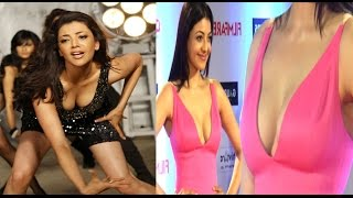Kajal Agarwal Hot Cleavage Show || Latest 2017