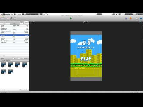 Flappy Bird Template for Gamesalad - Make your own Flappy Bird Game