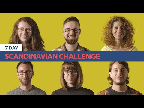 Can They Learn A Language In 7 Days? | The Scandinavian Challenge