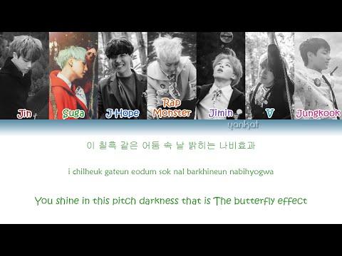 BTS (방탄소년단) - Butterfly (Color Coded Han Rom Eng Lyrics)   by Yankat