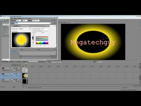 How to make a Basic Intro with Sony Vegas