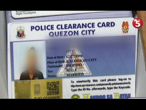Pagawaan ng pekeng police clearance sa Novaliches, sinalakay