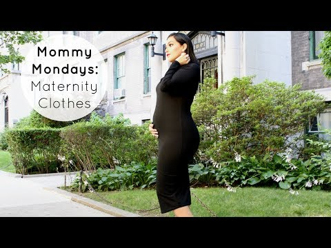 DON'T Buy Maternity Clothes Until You See This! I Mommy Mondays #1