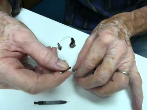How to remove hearing aid dome and change the wax guard/ wax trap
