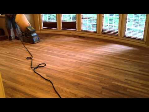 How to Refinish Hardwood Floors - Part 1, Sanding