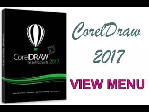 COREL DRAW 2017 USING VIEW MENU HINDI URDU PART 43