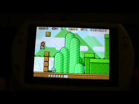 PSP GO! with GBA emulator - gpSP mod for HBL