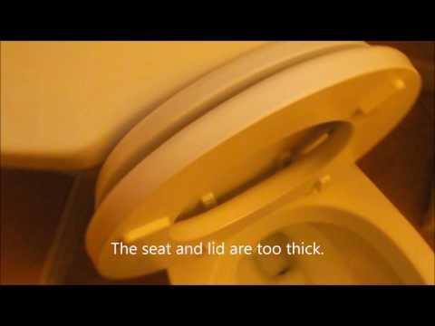 DIY Toilet Seat Repair - Don't let that toilet seat lid slam down unexpectidly