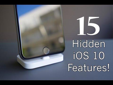 TOP 15 Hidden features of iOS 10!!!