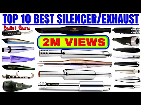 TOP 10 Best sound 🔊 Silencer/Exhaust of Royal Enfield