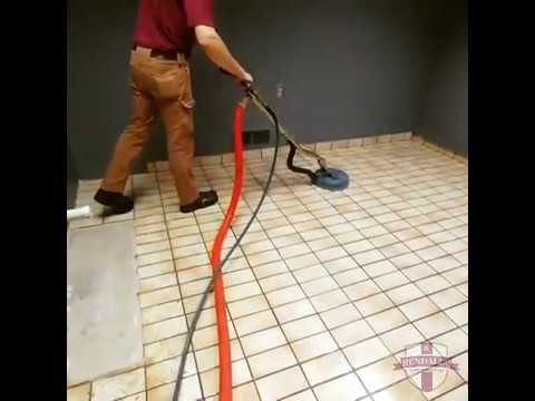 Satisfying Tile Cleaning - Rendall's Cleaning