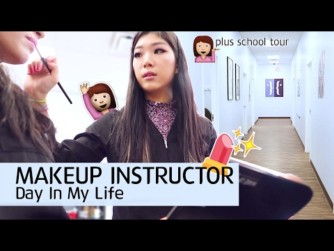 Day in the Life: COLLEGE MAKEUP INSTRUCTOR