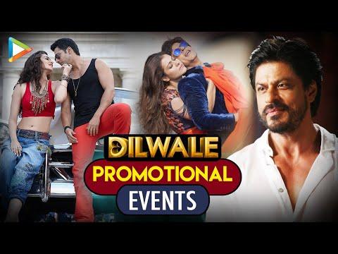 Dilwale Promotional Events | Shahrukh Khan, Kajol, Kriti Sanon, Varun Dhawan