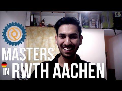 Students Share#1: RWTH Aachen M.Sc. Automotive Engineering