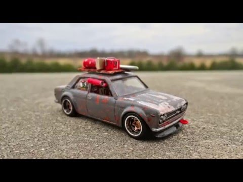 How to Make a Roof Rack for your Custom Hotwheels