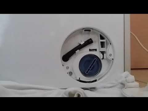 How to : Clean Drain pump filter on Siemens IQ700 washing machine