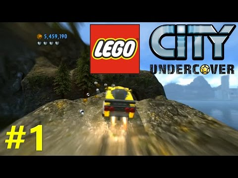 Lego City Undercover Free Roam #1: THAT DRIFT THOUGH!!!