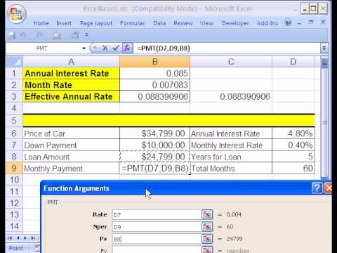 Excel Basics #4: Formulas and Functions