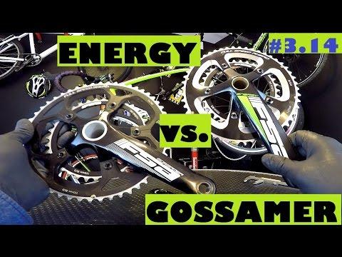 FSA Gossamer BB30 vs. Energy MegaExo crankset. Which chainset is better?