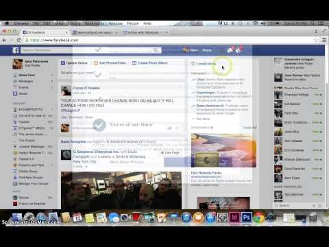 How to make your fb profile public!