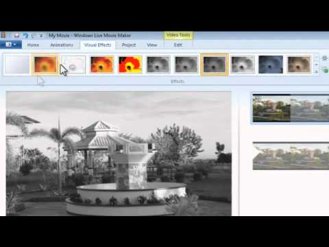 BL TUTORIAL 01: COLOR DIFFERENTIAL (Windows Live Movie Maker 2011)