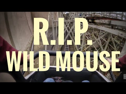 Wild Mouse Removed from Pleasure Beach Blackpool!