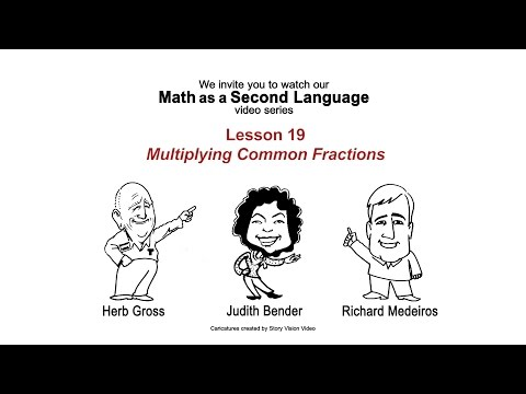 Multiplying Common Fractions