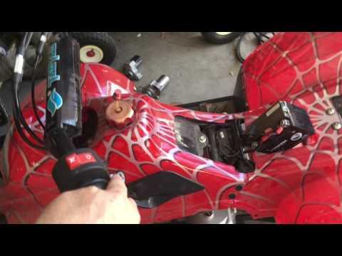 110cc atv starter noise fix