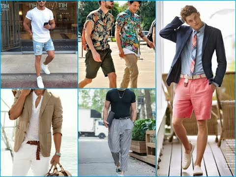 Summer Casual Men's Outfits Ideas - Latest Trends In 2018