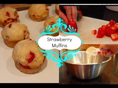 Strawberry Muffins | Baking