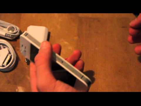 How To Open Micro Sim Card Slot On Apple iPhone 4S! Part 3