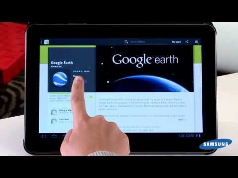 Galaxy Tab 10.1 - Android Market and Featured Tablet Apps