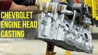 Chevrolet Engine Head Casting