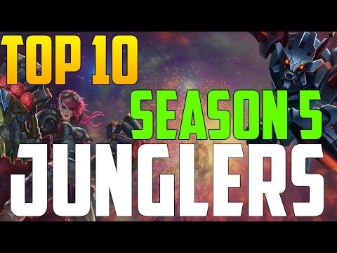 Top 10: Junglers! Season 5 - League of Legends