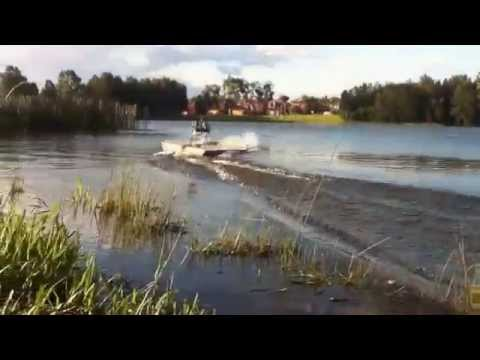 HOMEMADE RC AIR PROP BOAT