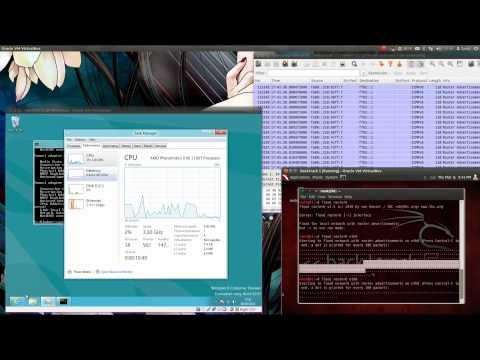 Windows 8 IPv6 Router Advertisement Attack