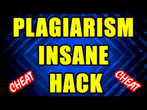 Copy Everything Without Plagiarism!!!