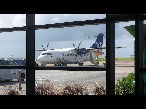 LIAT ATR42-600 Barbados to Grenada *Full Flight*