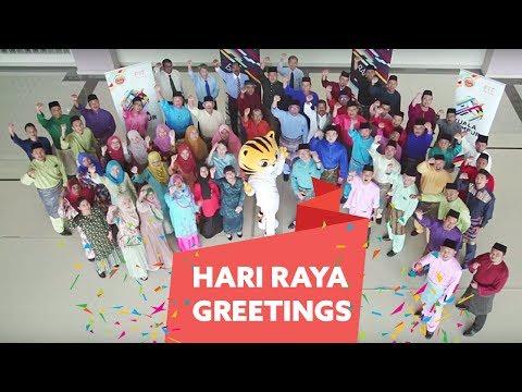 Kuala Lumpur 2017 Secretariat Hari Raya Greetings