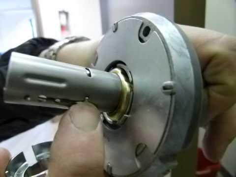 Schlage heavy-duty keyless lockset installation