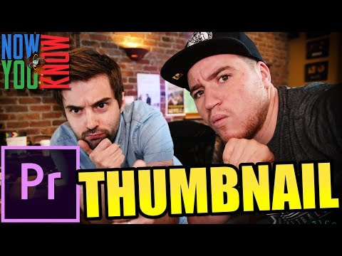 How to create a Thumbnail in Premiere Pro - VLearning