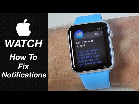 Apple Watch - How To Fix Mail & Message Notifications