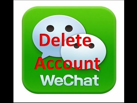 {100%] How to Delete-Deactivate Your WeChat Account permanently 2015