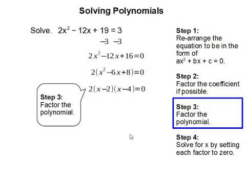 How to Solve Polynomials