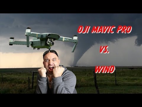 How to Fly DJI Mavic Pro Drone in STRONG Wind.