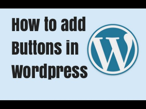 How to add Buttons in Wordpress - MaxButtons Tutorial