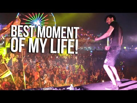 How I Got on Stage At EDC 2018