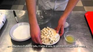 cheesecake di tofu e crema all'arancia in coppa  (dolce 4^G natura nuova)