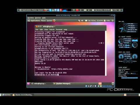 Install and use SSH on Linux