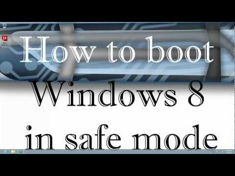 How to boot Windows 8 in Safe Mode